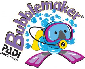 PADI Bubblemakers for kids