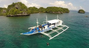 Dive boat Philippines