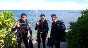 PADI dive course
