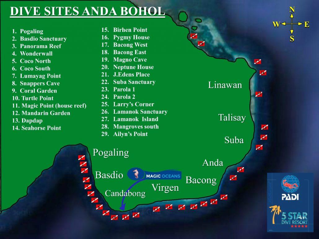 Diving in anda magic oceans resort - Magic oceans dive resort ...