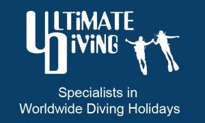 Magic oceans Ultimate Diving Logo