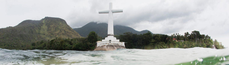Magic Oceans Camiguin island dive trip Sunken cemetery
