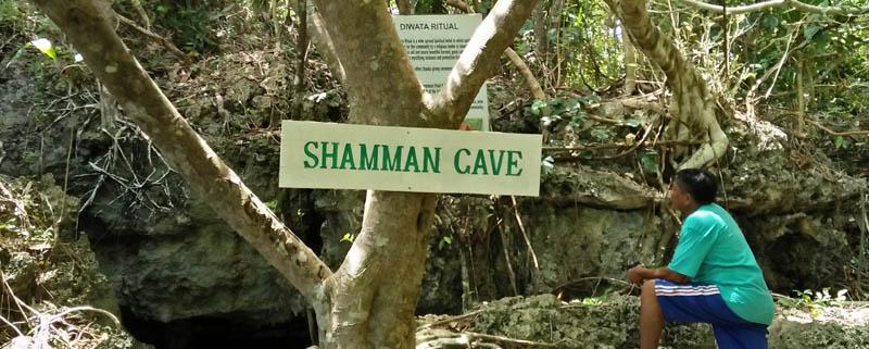 Entrance Shamman Cave