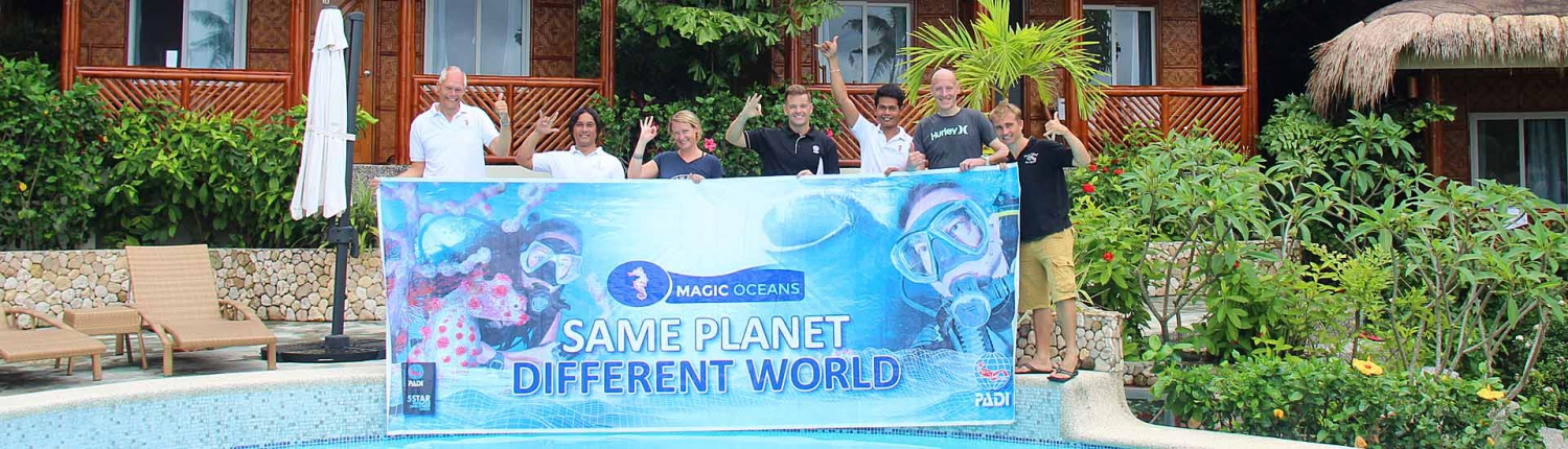 Instructor Course IDC at Magic Oceans
