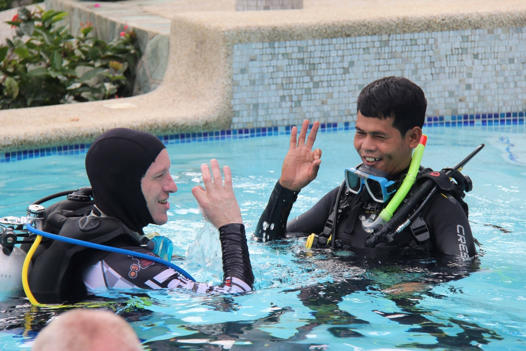 IDC course Magic Oceans Dive Resort