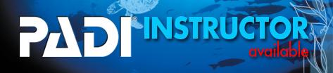 PADI instructor course