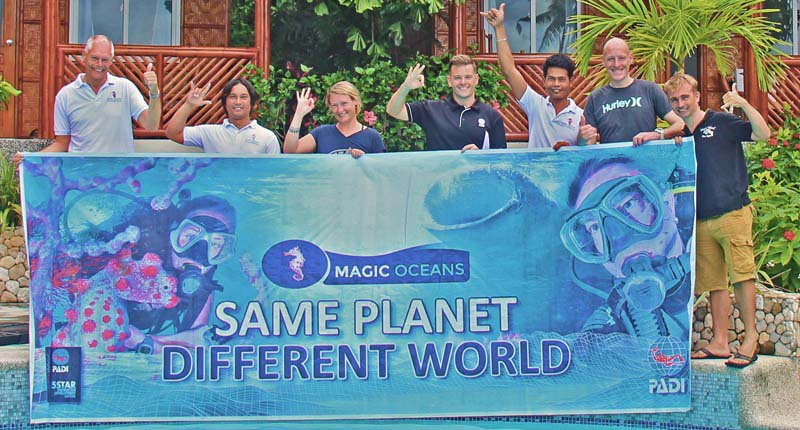 IDC instructor course at Magic Oceans