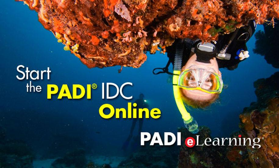 PADI Instructor Course IDC E-learning