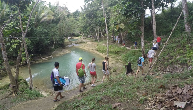 Can-Umantad Falls Bohol Magic Oceans